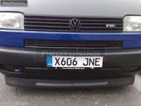 VW T4 WIDE front bumper spoiler chin lip addon valance trim splitter cup Skirt