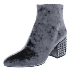 Kendall + Kylie Womens Blythe 2 Gray Ankle Boots Shoes 8 Medium (B,M) BHFO 7813