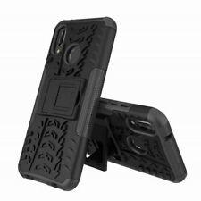 für Huawei P20 Lite hybrid Case 2teilig Outdoor schwarz Etui Tasche hülle Cover