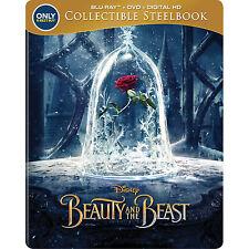Beauty and the Beast - Disney 'Best Buy' Steelbook (Blu-ray+DVD+Digital Copy)