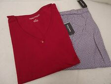Women's Nautica  Plus Size Pajamas    2X