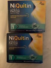 NiQuitin Clear 24 Hour Step 2 21mg Patch - 28patches