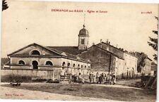 CPA Demange aux Eaux-Eglise et Lavoir (232242)