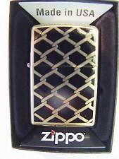 Zippo®  golden Fence Design Urban Classics - Brass- New / Neu OVP