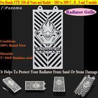 Radiator Grill Guard Protector Cover For Honda VTX1300C VTX1300R VTX1300S 03-09