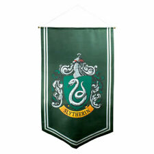 Harry Potter Slytherin Satin Banner Officially Licensed Merchandise