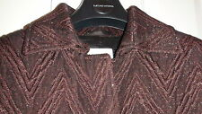 NEW Costume National WOOL BLEND Women's Coat sz. US 10 MADE IN ITALY