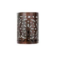 Orientalische Wandlampe Marokkanische Metall Wandleuchte Orient Lampe MW01 H21cm