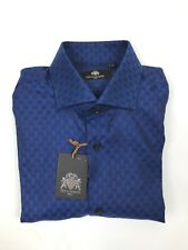 "Circle of Gentlemen - Blue Kendal Shirt - 15.5""/39cm - *NEW WITH TAGS* RRP £135"