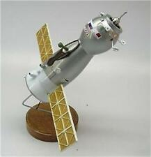Soyuz Satellite Russia Space Spacecraft Mahogany Kiln Dry Wood Model Large New