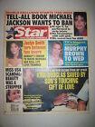 Star Magazine 3-5-1991. Michael Jackson Tell-All Book! Jean Claude Van Damme!