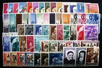 Vatikan Vaticano Jahrgang 1959 - 1960 - 1961 - 1962 postfrisch ** MNH Year Set