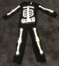 Skeleton  Halloween  Costume  Age 8-10, Very Good Condition.