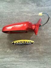 DOOR MIRROR LH FRONT 91031fc251uv Painted RED mica Si Adatta Subaru Forester SPORT