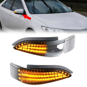 Sequential Dynamic LED For TOYOTA Camry 11-15 Mirror Turn Signal Light Indicator