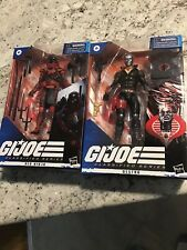 G.I. Joe Classified Red Ninja And Destro 6? Figure New