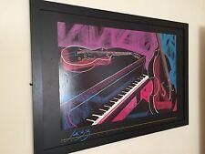 Keith Mallett imprimer -61 x91cm, encadrée Musiciens Poster, Jazz Ensemble imprimer