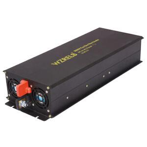 3000W Pure Sine Wave Inverter DC 36V to 120/220V to AC Power Inverter Converter