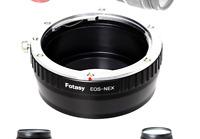 Fotasy Manual Canon EF Lens to Sony E-Mount Adapter, EF to EMount, EFs Lense ...