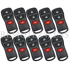 10 New 3btn Replacement Keyless Entry Remote Car Key Beeper Fob for Nissan