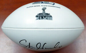 STEVEN HAUSCHKA AUTOGRAPHED SUPER BOWL CHAMPS FOOTBALL SEAHAWKS MCS 112616