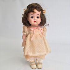 R&B Arranbee 1950s Vintage Littlest Angel Walker Doll #1010 EUC