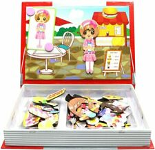 Little Treasures 103-Pcs Festival Feast Magnetic Puzzle Book Toy Set for Kids...