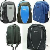 HI-TEC Kids Men's Calais School Backpack Rucksack Gym Flight Travel College Bag