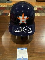 Carlos Correa Signed Houston Astros Rawlings Full Size Batting Helmet Beckett