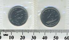 Canada 1972 - 10 Cents Nickel Coin - Queen Elizabeth II