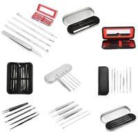 5/7pcs Blackhead Pimple Blemish Comedone Acne needle Extractor Remover Tool Set