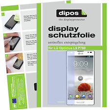 1x LG Optimus l9 lámina protectora mate protector pantalla Lámina antireflex encaja perfectamente dipos