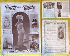Paris qui Chante - 1905 - N°151 - Mily MEYER.