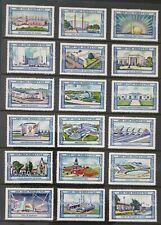 USA 1939 NewYork World Fair Cinderella advertising labels (54) Mint many themes