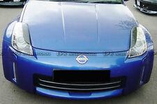 ACE 2Pcs Eyebrow Eyelid Cover Cap For Nissan 350Z Z33 FRP Craft  Racing Eyelids
