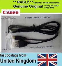 Genuine Canon USB Cable VIXIA LEGRIA HF G10 R26 R28 R206 FS46 FS406 M300 S30 M52