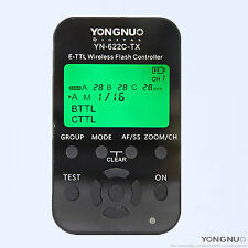 YongNuo wireless TTL LCD screen YN-622C-TX flash Controller for Canon