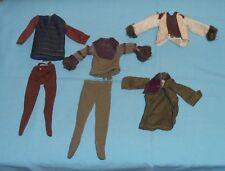 vintage Mego pota PLANET OF THE APES CLOTHES LOT #21 Dr. Zaius Soldier Ape Zira