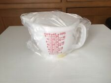 New Tupperware #1288-6 Mix-N-Store 4 Cup Measuring Cup/Pitcher With Lid