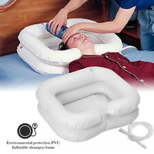 Portable Inflatable PVC Hair Washing Basin Elderly Assisted Shampoo Sink Basin