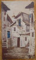 Anzeigen Von Ein Old Country Spanisch Malerei Derartige Öl Auf Leinwand Vintage