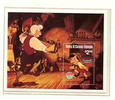 """Disney Block """"Pinochio""""  postfrisch ** (WD1)"""