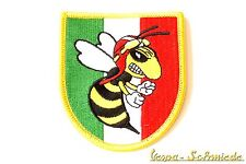 """VESPA Parche """"Italia Escudo de armas/Malas Avispa"""" Italia V50 PX Piaggio Patch"""