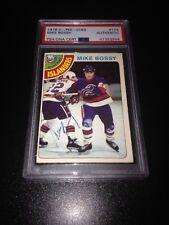 Mike Bossy Signed 1978-79 O-Pee-Chee Rookie Card OPC Islanders PSA Slab 41353944
