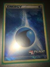 Pokemon Call of legends HOLO WATER ENERGY 90/95 PLAY POKEMON PROMO LUGIA
