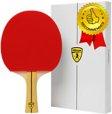 Killerspin JET400 SMASH Intermediate Table Tennis Paddle Red Racket Ping Pong