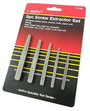 EZY OUT SCREW EXTRACTOR SQUARE bolt nut nail AMPRO TRADE QUALITY TOOLS Special