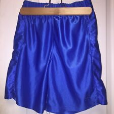 Starter Boys Shorts Elastic Waist Size 8 Athletic Blue