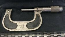 Antique Brown Amp Sharpe Usa No 61 Micrometer Pat Dec 30 1902 In Case