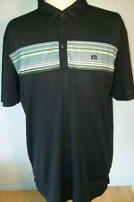 Travis mathews mens polo golf shirt Xl